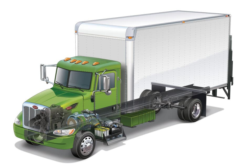 Peterbilt Truck Illustration - 121 Marketing Company