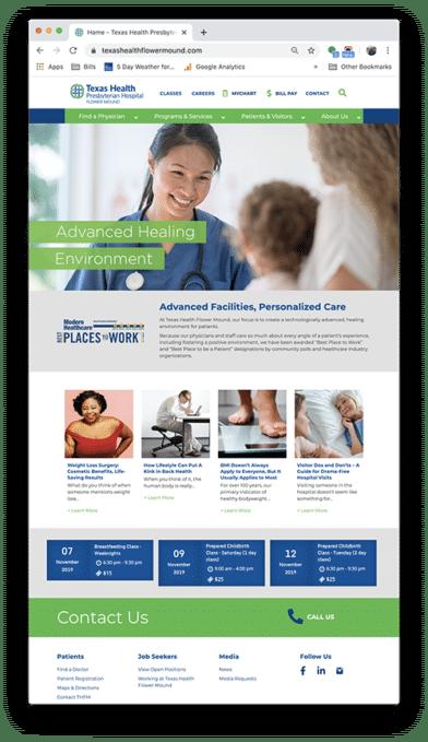 texas_health_flower_mound_website