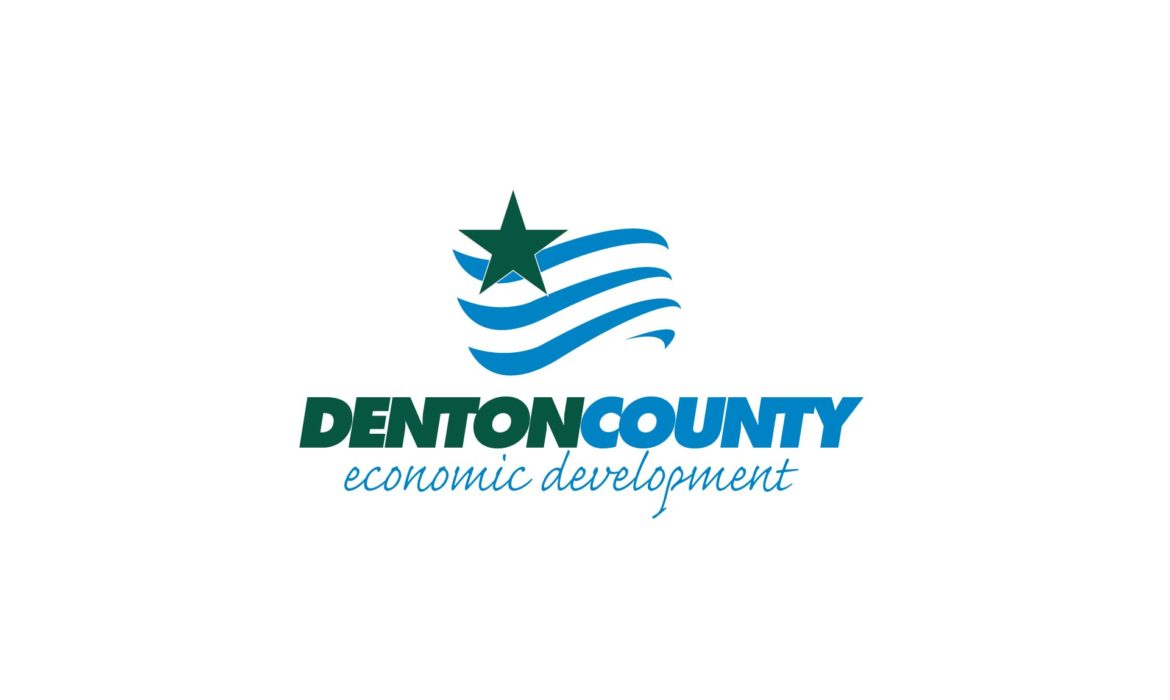Denton County Economic Development Logo by 121 Marketing Company