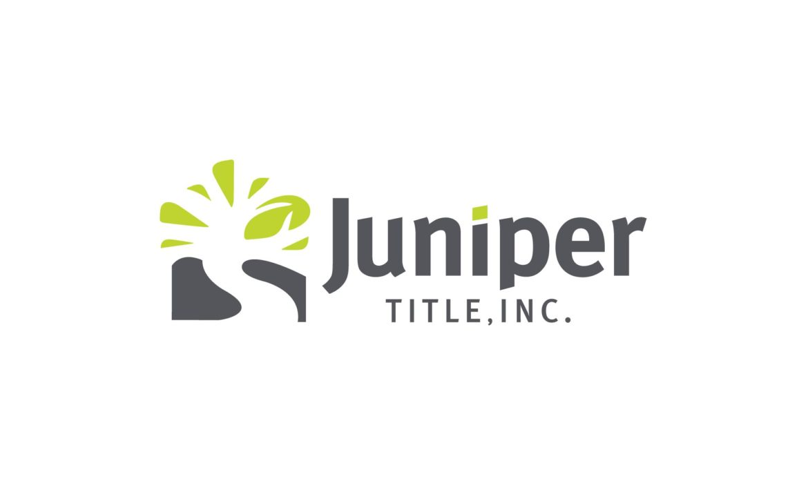 Juniper Title Logo by 121 Marketing Company