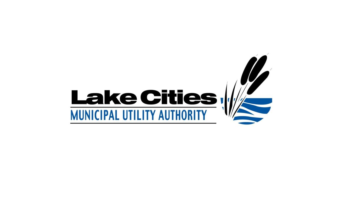 Lake Cities Municipal Utility Authority Logo by 121 Marketing Company