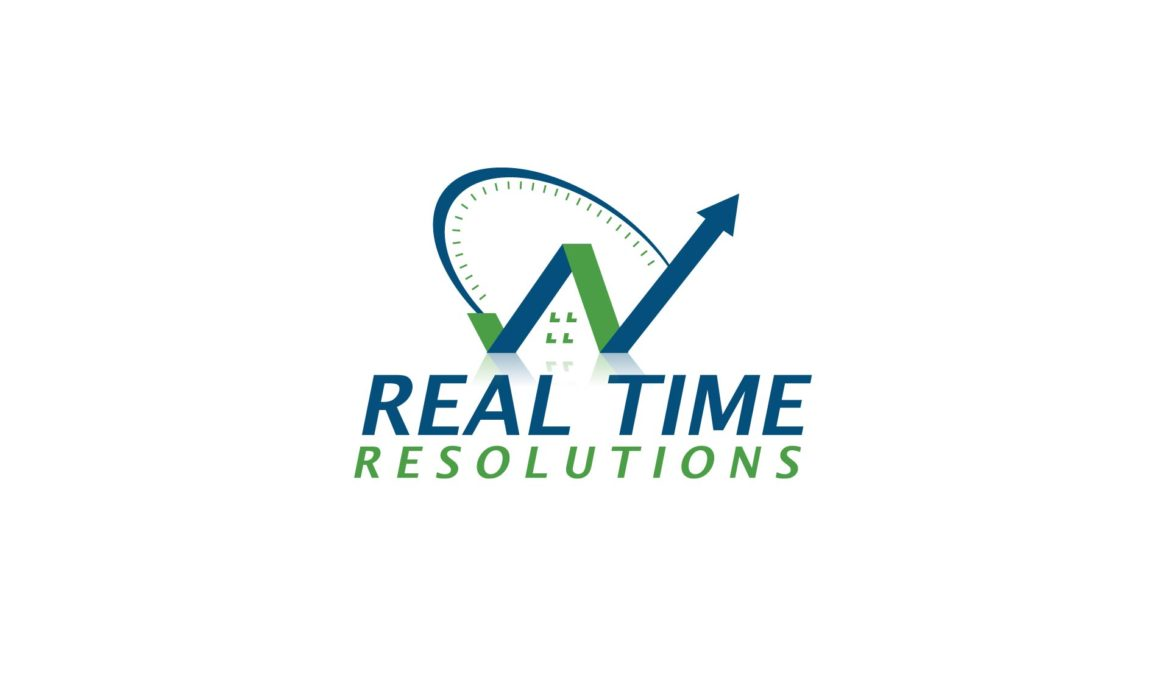 Real Time Resolutions Logo by 121 Marketing Company