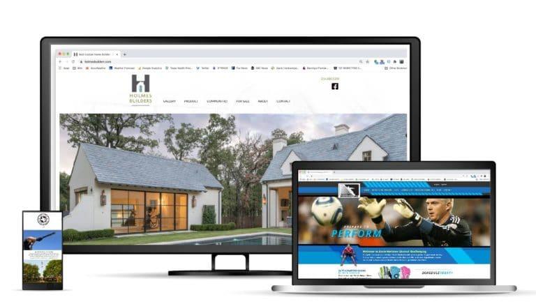 Websites developed by 121 Marketing Company