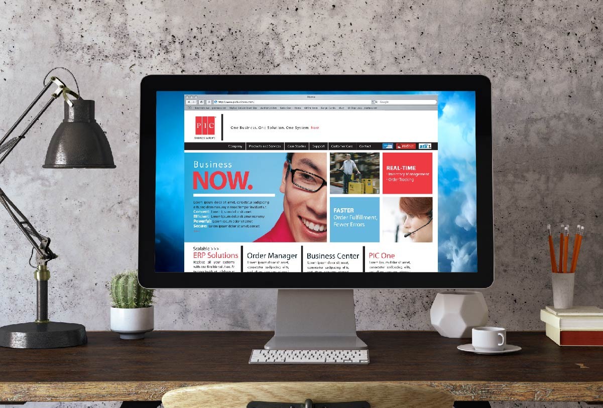 PIC Business Website by 121 Marketing Company