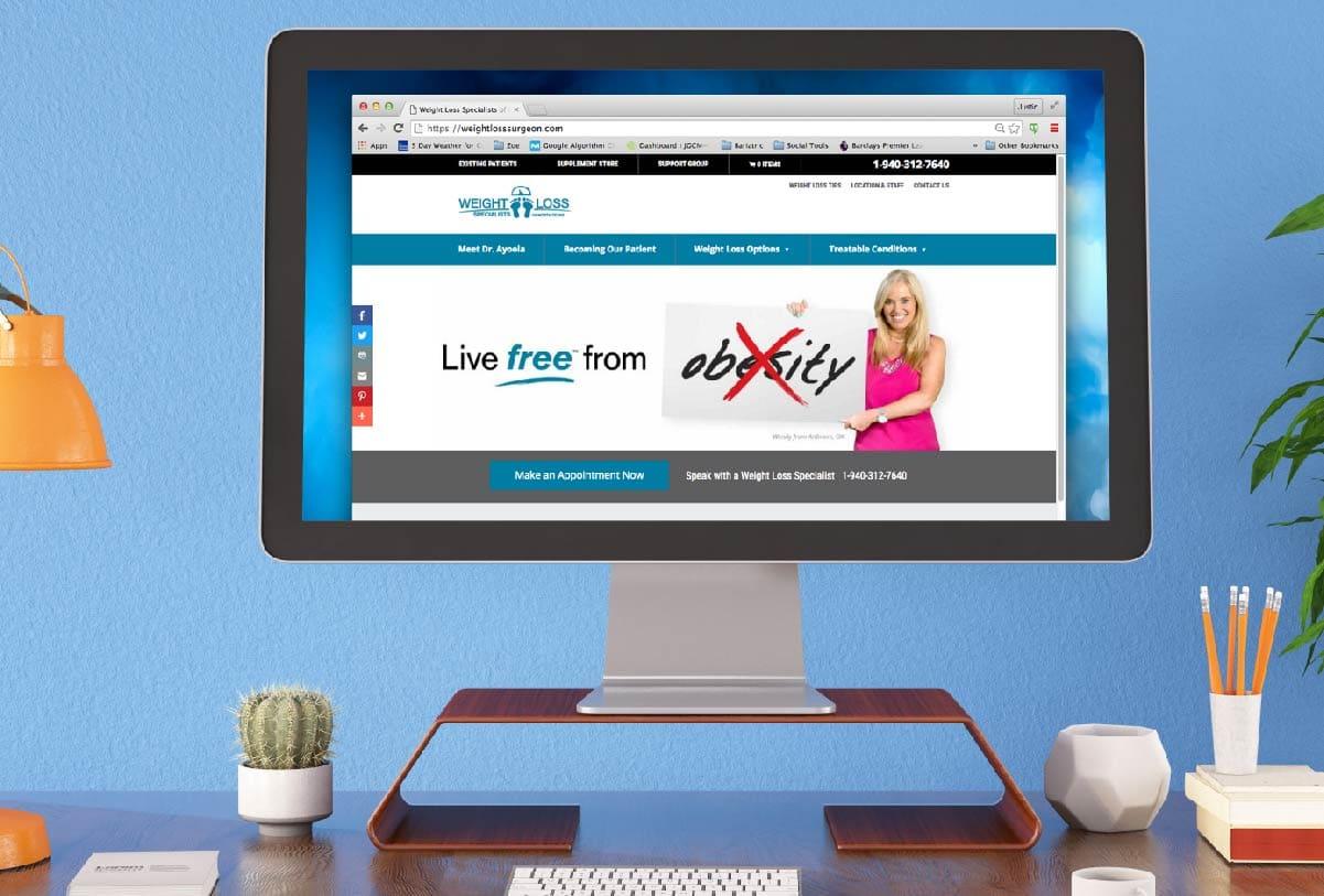 Dr Ayoola website - 121 Marketing Company